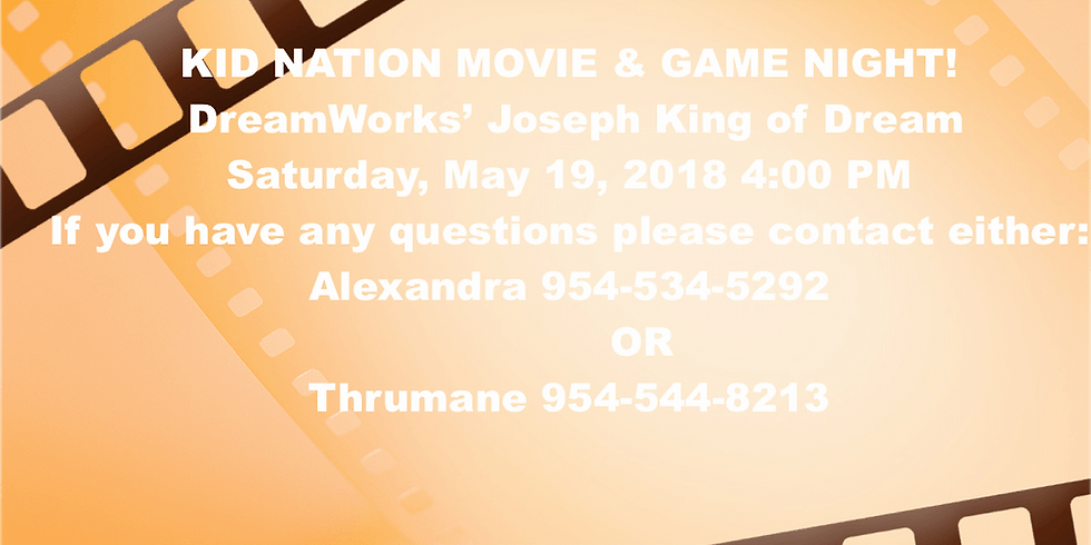 KID NATION MOVIE & GAME NIGHT