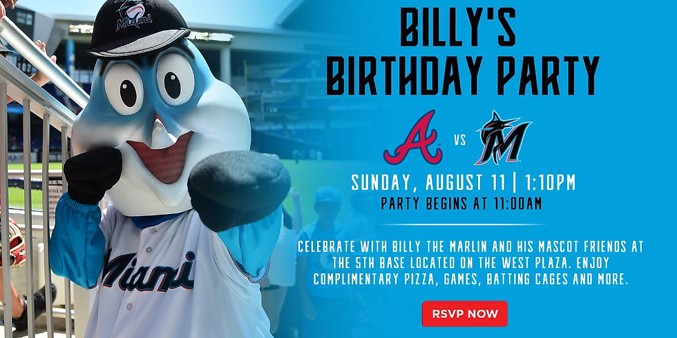 Billy the Marlin's Birthday Party!