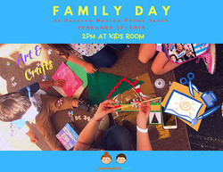 Art & Crafts at Family Day