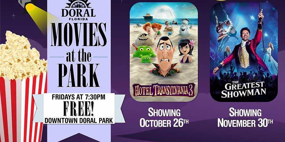 Movies at the Park.