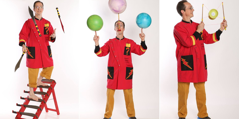 Science Circus - The Physics of Fun!