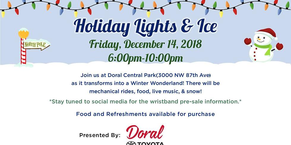 Holiday Lights & Ice