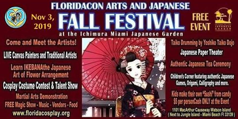 Floridacon Arts Japanese Fall Festival
