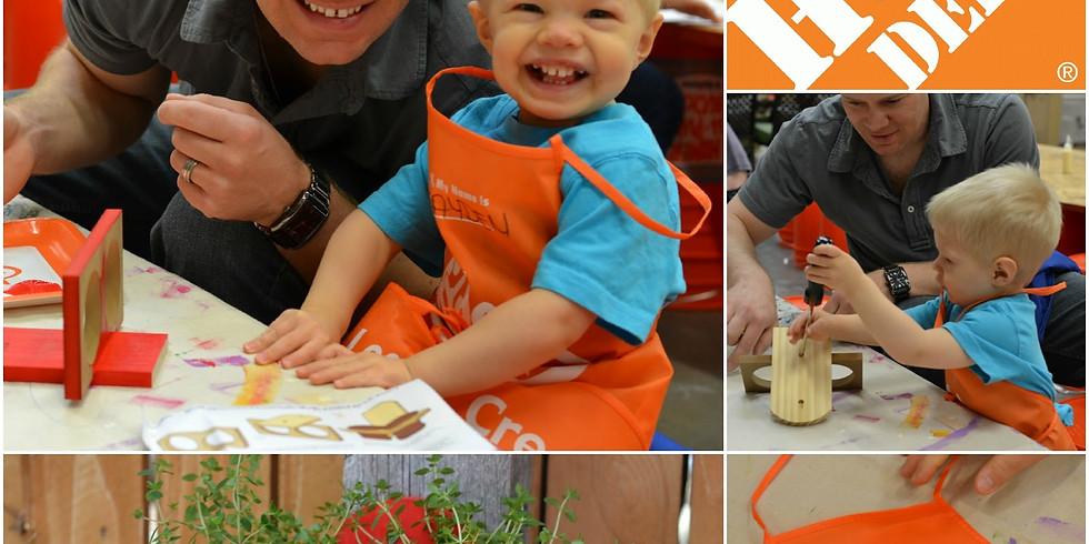 Home Depot offers free kids' workshop