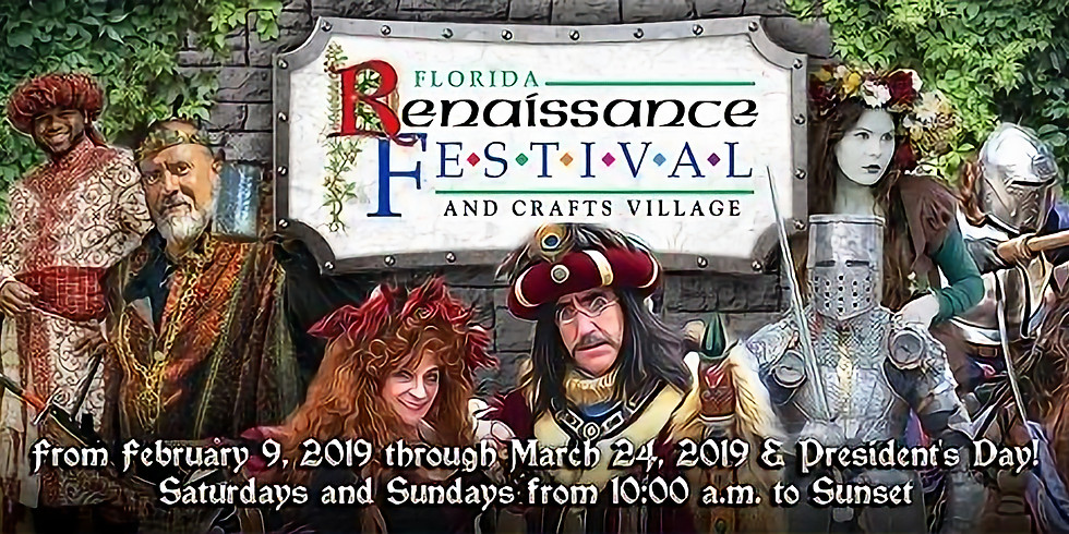 2019 Florida Renaissance Festival