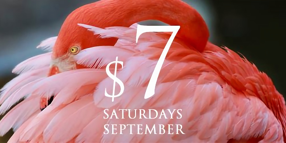 $7 Saturdays in September