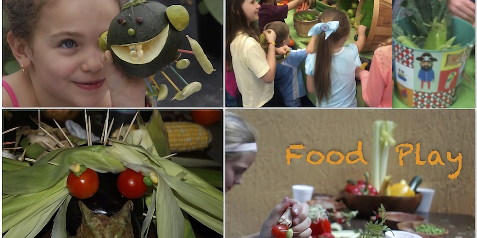 Food Play for Kids at Garden in Wynwood Every Sunday