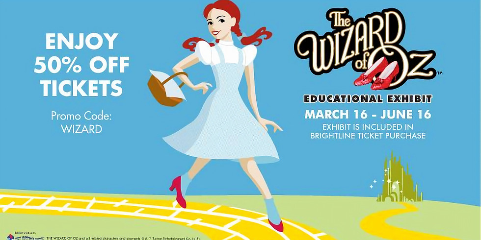 Family Fun Event at The Wizard of Oz Educational Exhibit