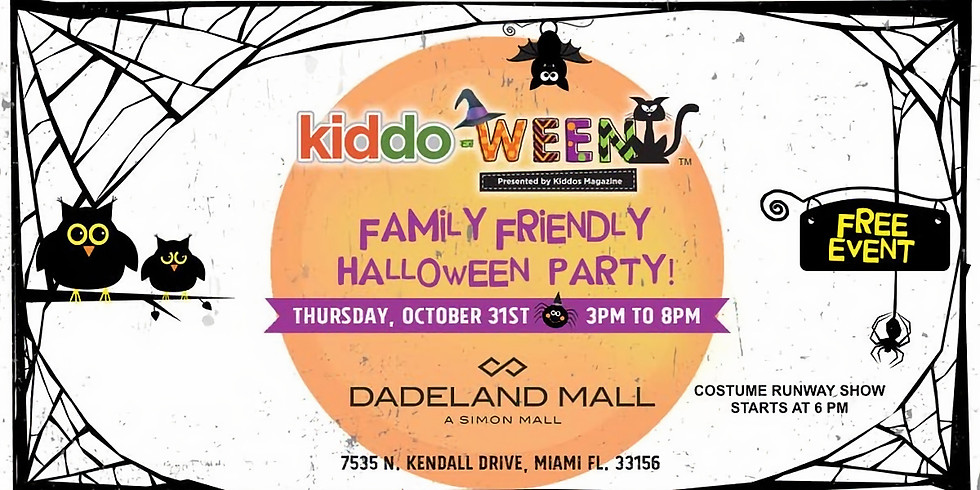 Kiddo-Ween Party at Dadeland Mall
