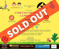 FAMILY DAY ABRIL PARA BAJITOS soldout