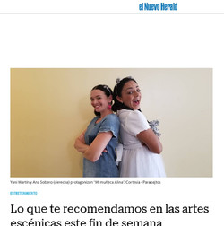 Para Bajitos Featured at El Herald