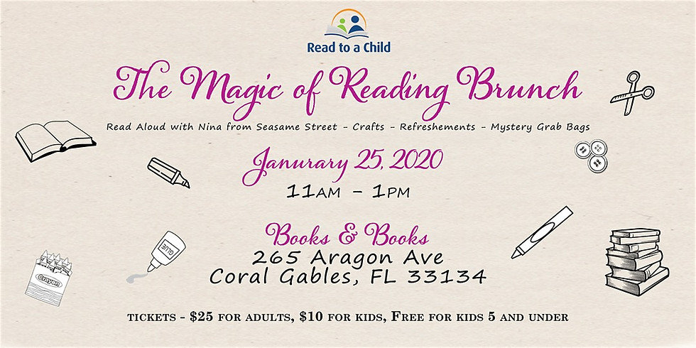 The Magic of Reading Brunch