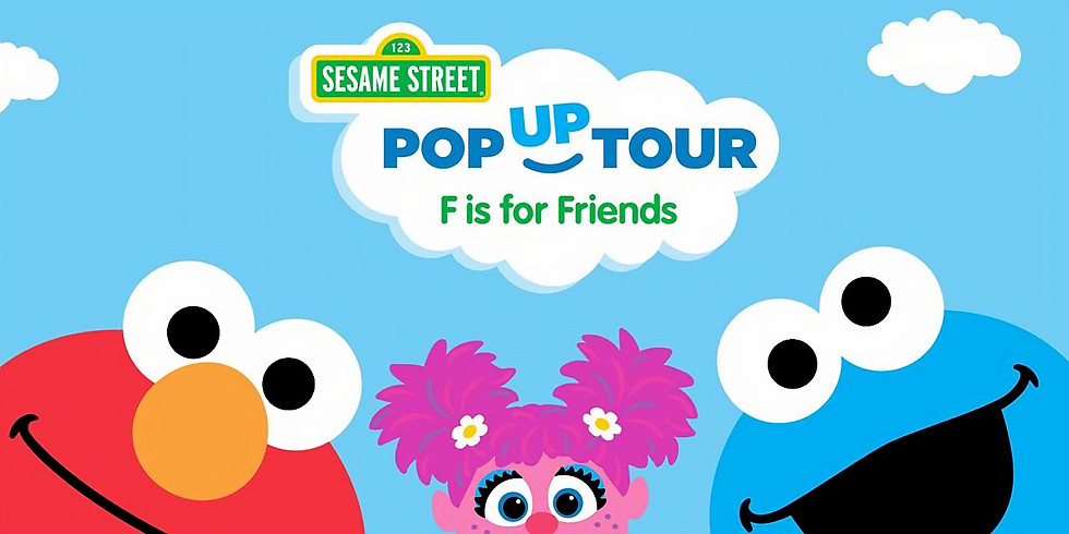 Sesame Street F is For Friends Event