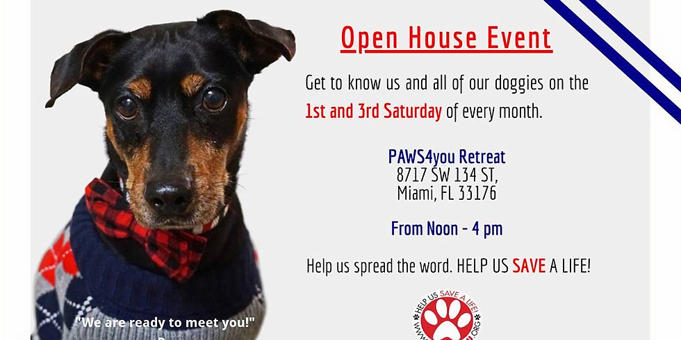Adoption Open House Event