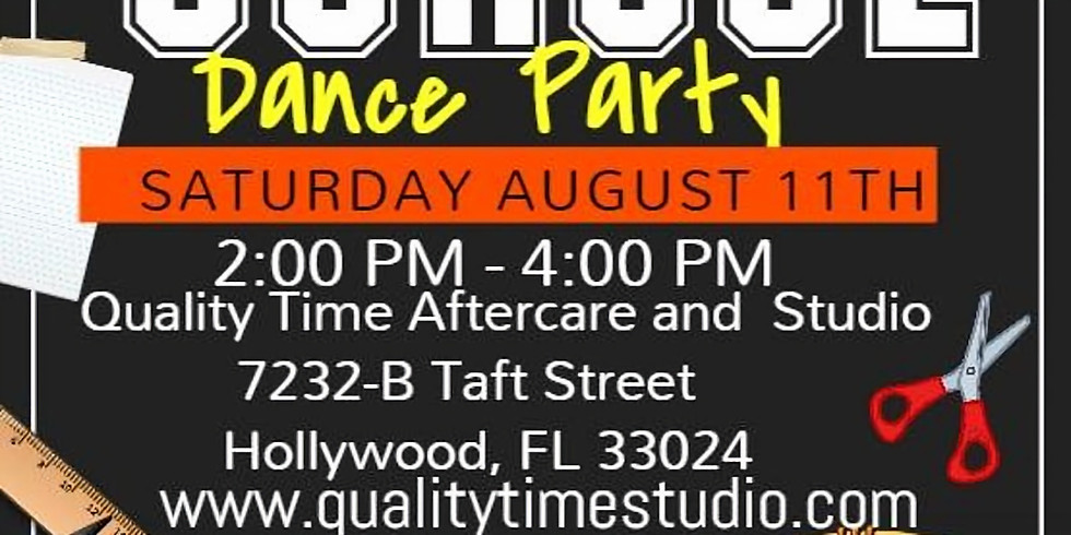 Free Back to School Dance Party