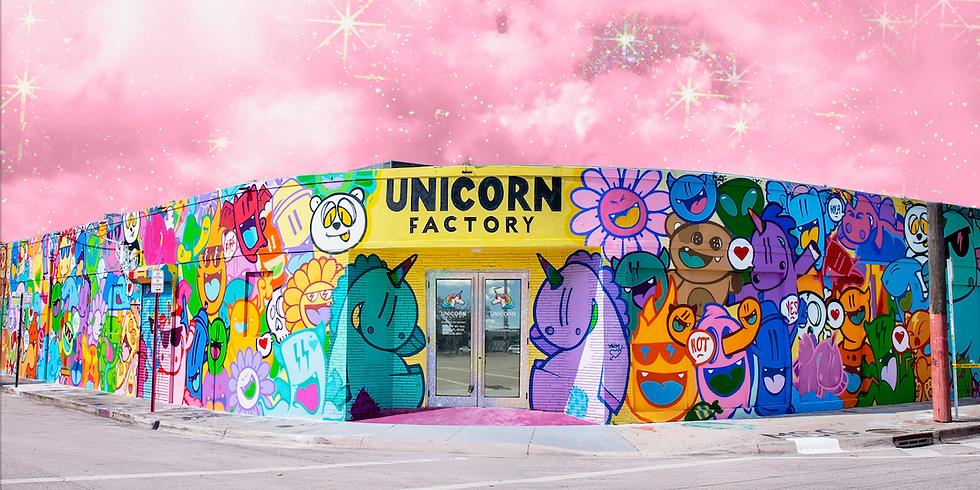 Gran Opening de la Fabrica de Unicornios.