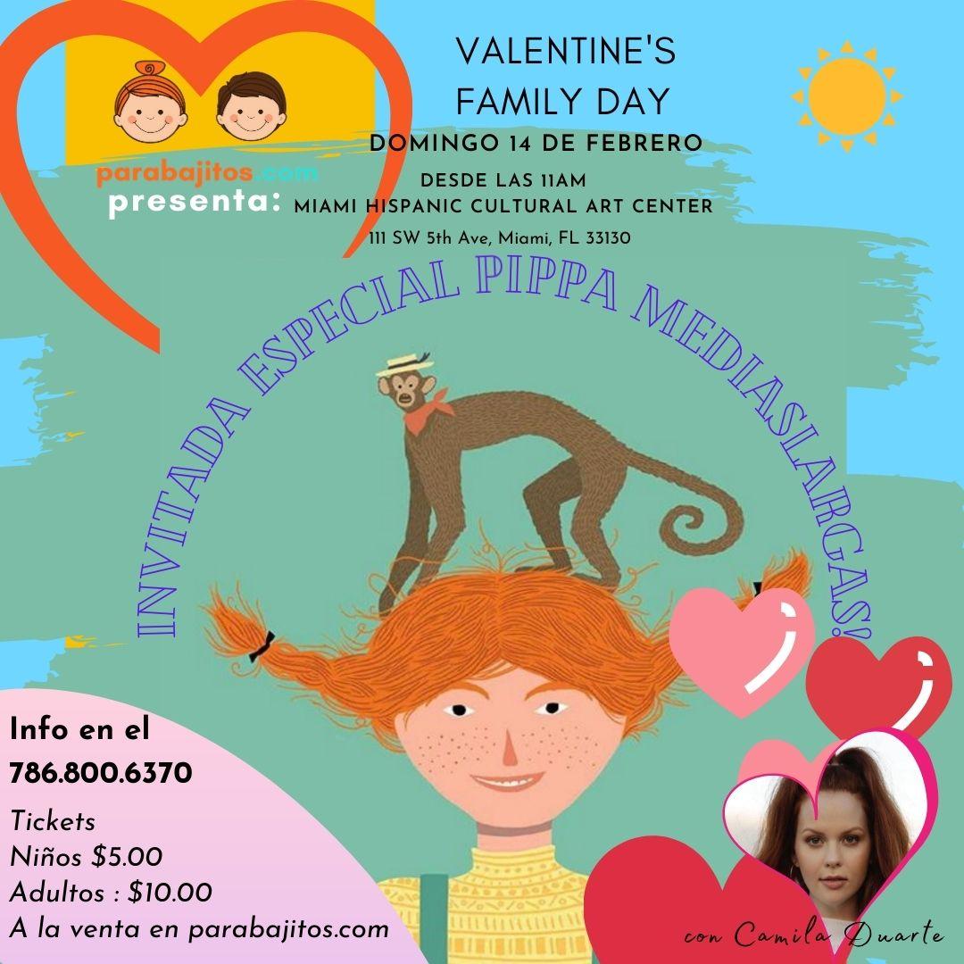 Pippa Flyer Valentines Day Para Bajitos.