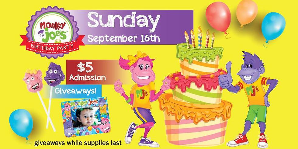 Monkey Joe's Birthday Party!