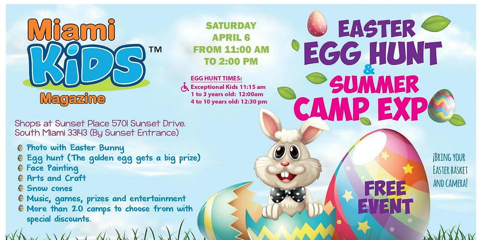 MKM Easter Event and Summer Camp Expo