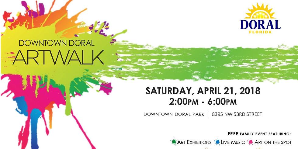 Downtown Doral Art Walk & Earth Day