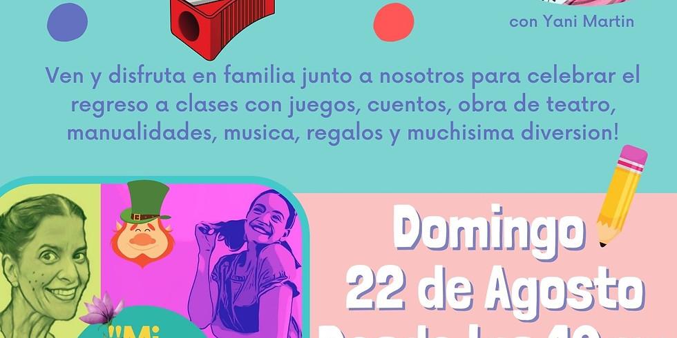 Para Bajitos Family Day de Verano TARDE DE ARTE Domingo 22 de Agosto desde las 10am