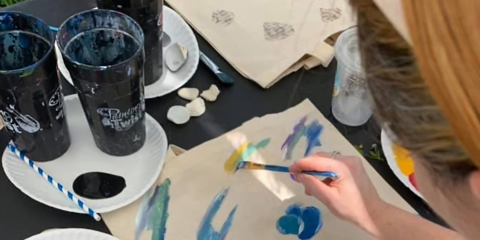 Paint Your Own Eco-Sustainable Bag!