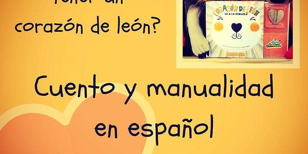 Cuento y manualidad en español