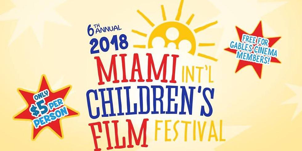6th Annual 2018 Miami International Children's Film Festival