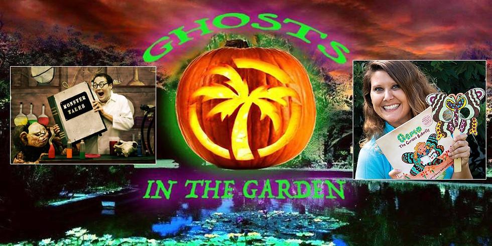 Ghosts in the Garden - Family Halloween