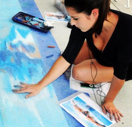 West Michigan Chalk Art Festival