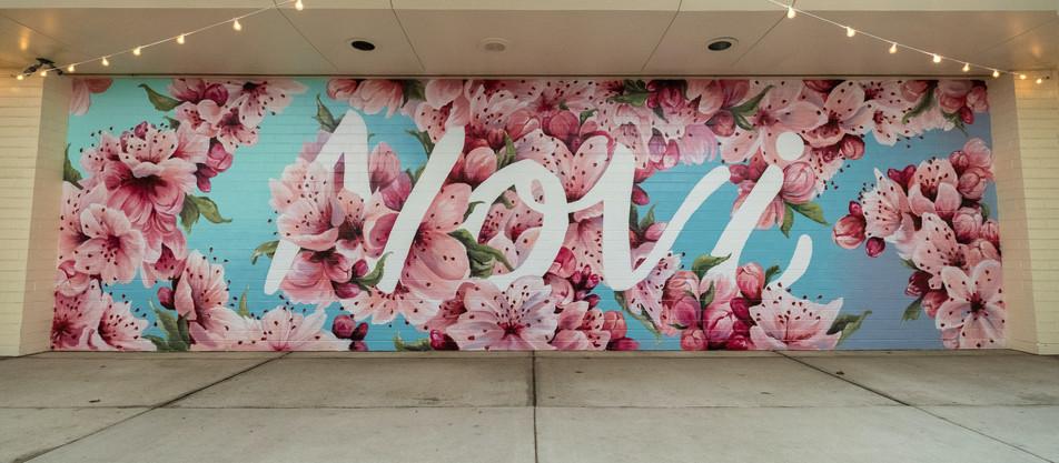 Cherry Blossom Mural Timelapse