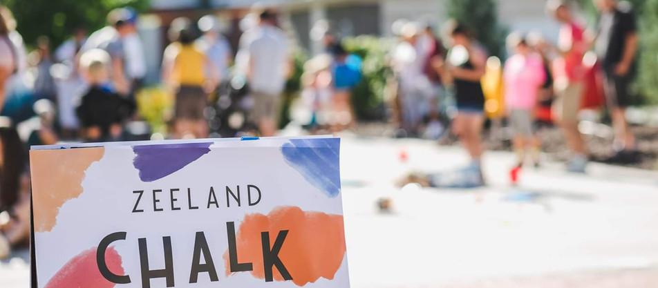 Zeeland's First Ever Chalk Festival