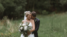 An elegant bohemian wedding - wild and lush.