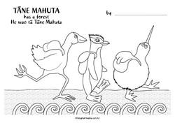 Tane Mahuta Colouring