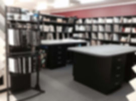 Design room and library at Ceramico Designer Tiles