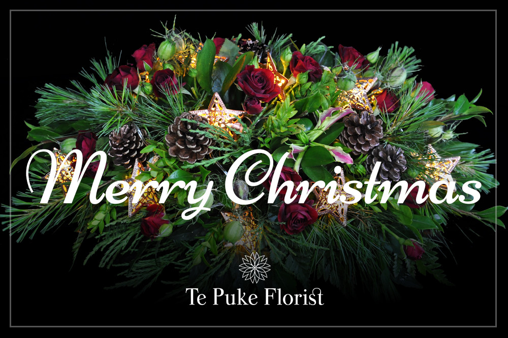 Merry Christmas from Te Puke Florist
