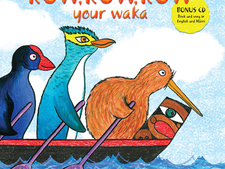 Takahē magazine review 'Row, row, row your waka'