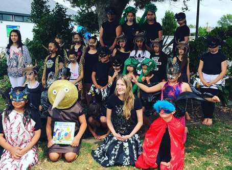 Arataki Primary launch 'Tane Mahuta has a forest' with a production