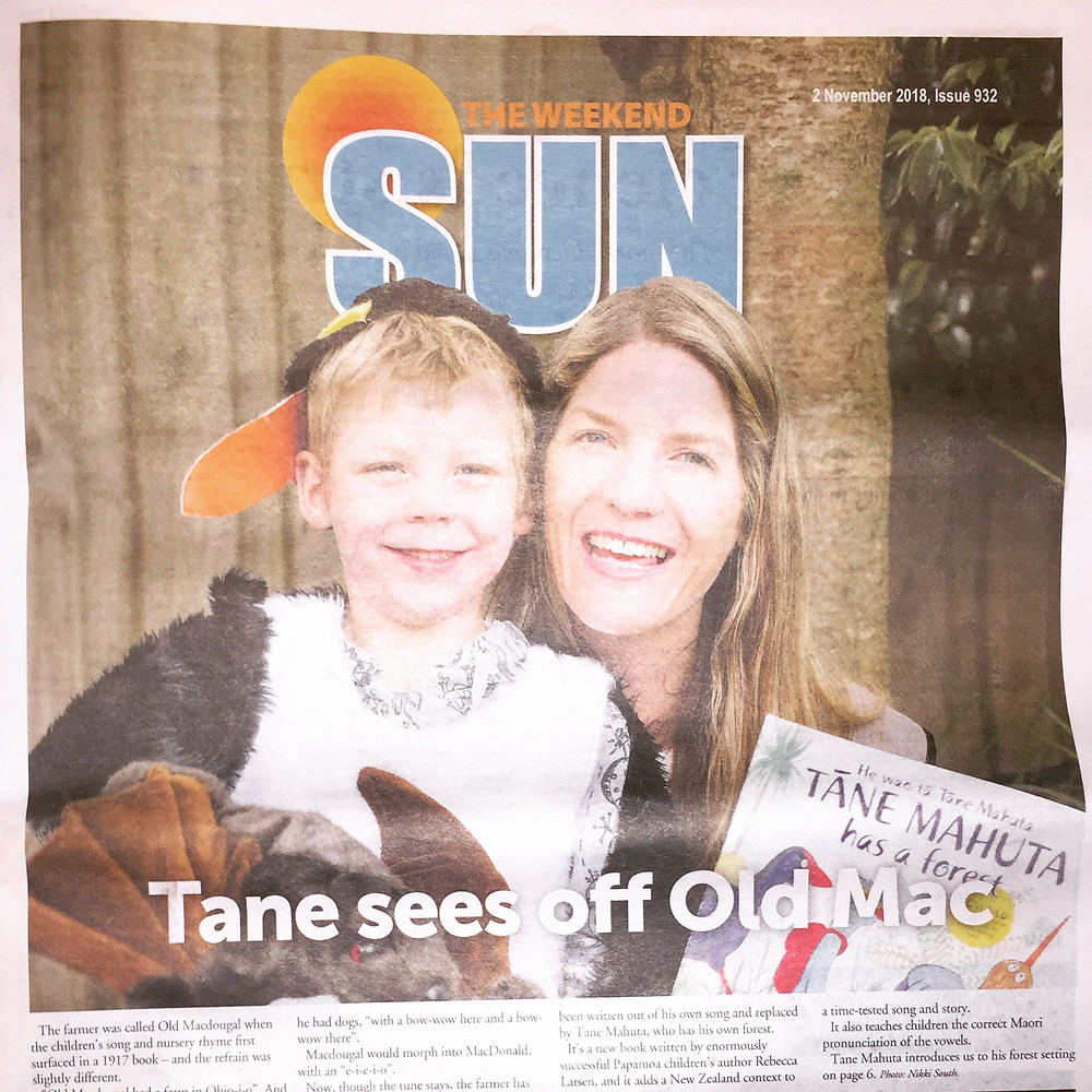 Cover – The Weekend Sun – 2 November, 2018