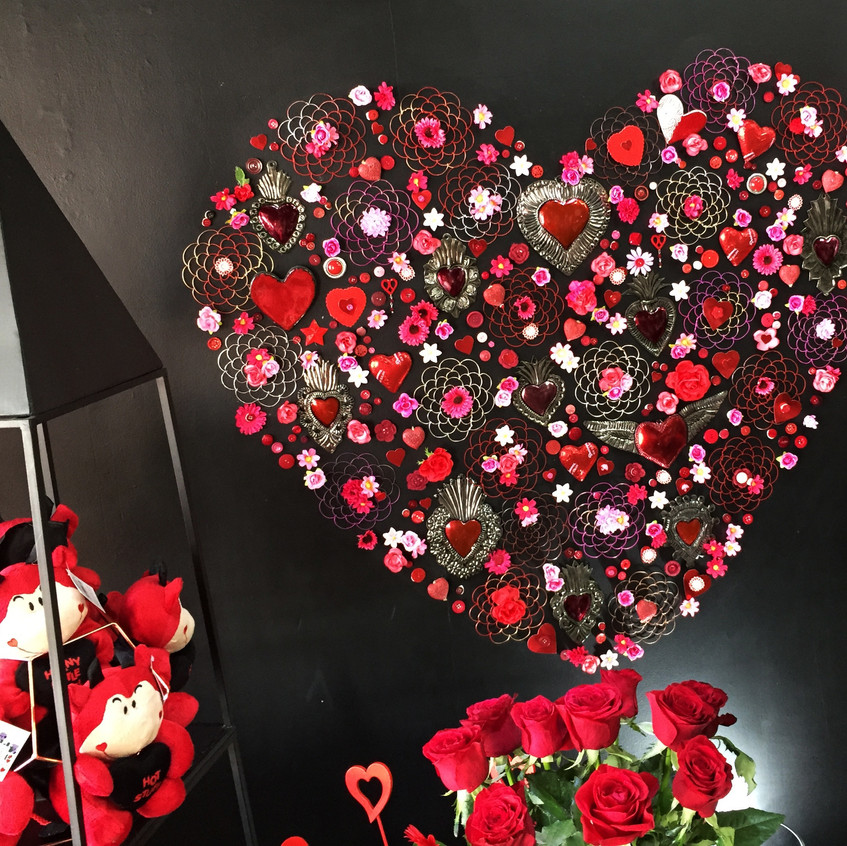 Our heart wall display