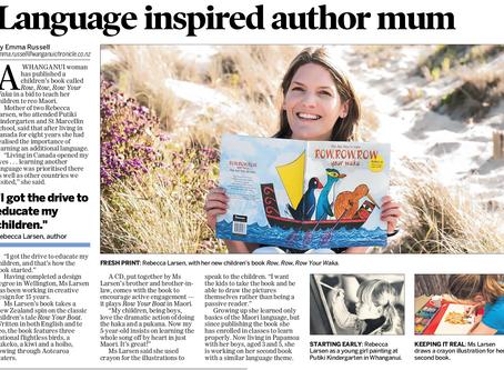 Language inspired author mum