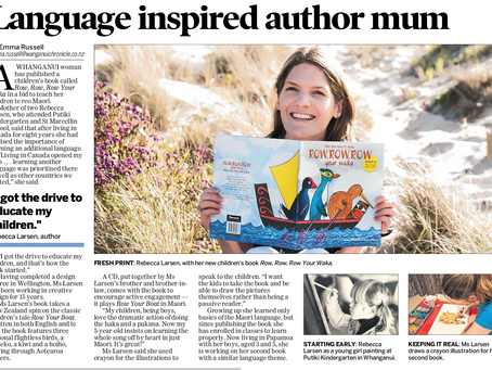 Language inspired author mum
