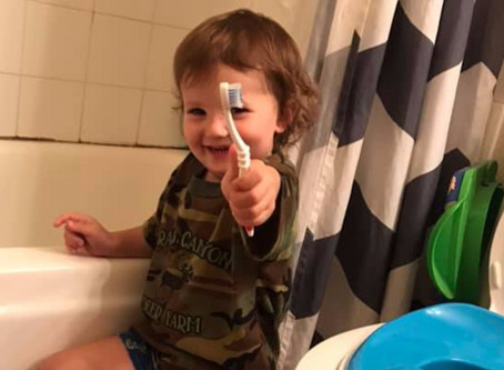 How a 17 year old Mom fully toilet trained her son by age 2.5 years