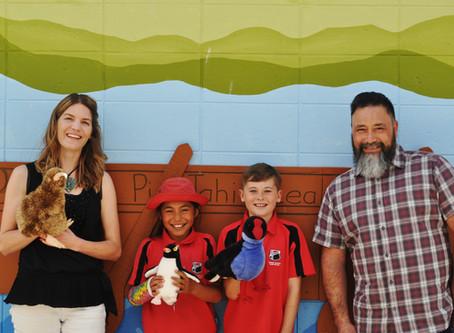 Te Puke Primary School visit.