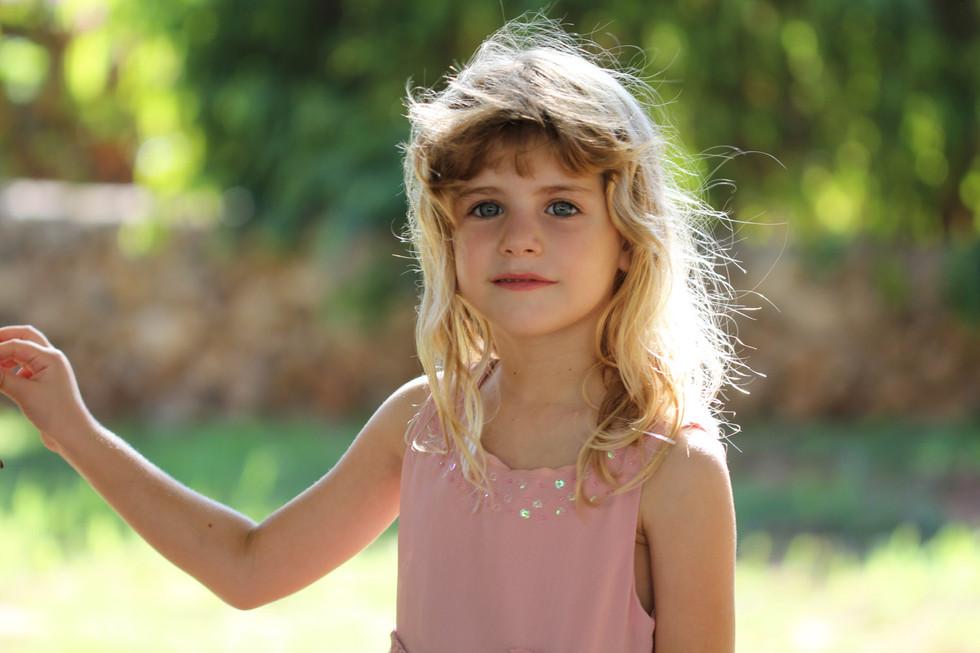 צילום ילדים בטבע