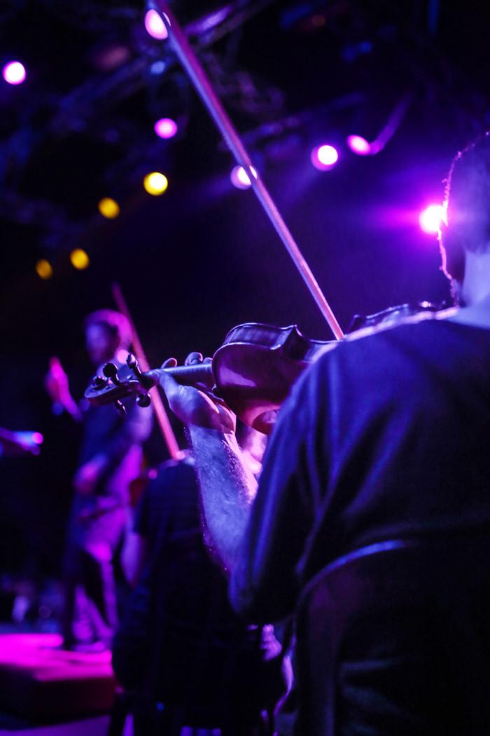 התזמורת הקאמרית באמפי שוני. צילום: תהילה אור שלו.