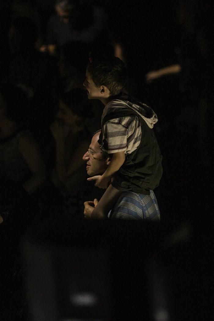 מופע מחווה לביטלס באמפי שוני. צילום: נדב אבן נור.