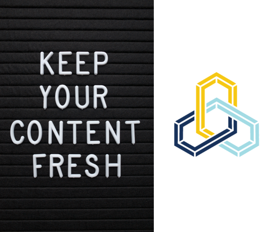 Warp & Woof Media - content marketing strategy: keep your content fresh