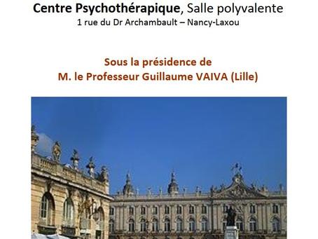 """Journée de la Société de Psychiatrie de l'Est - """"Suicide: comment prévenir?"""""""