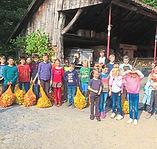 Ludgerusschule-Albachten-Apfelsaftpresse